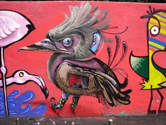 Anonim Superheroes Summer special (BREakONE) Tags: bird wall one graffiti major break super tennis heroe város anonim