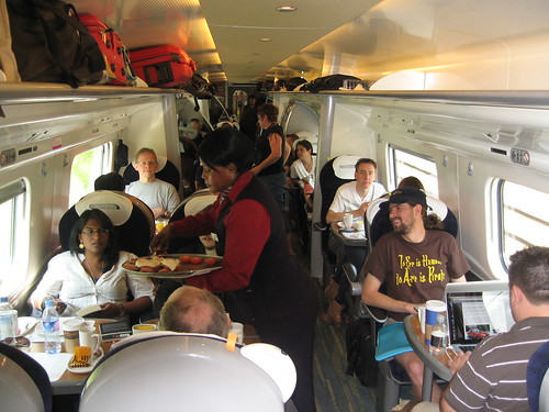 Train Chartering - private First Class carriage from London