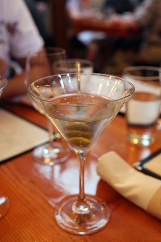 Gin Martin w/olives