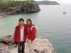 Nat et Nico a la péninsule de Bruce