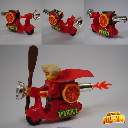 Pizza-Bike