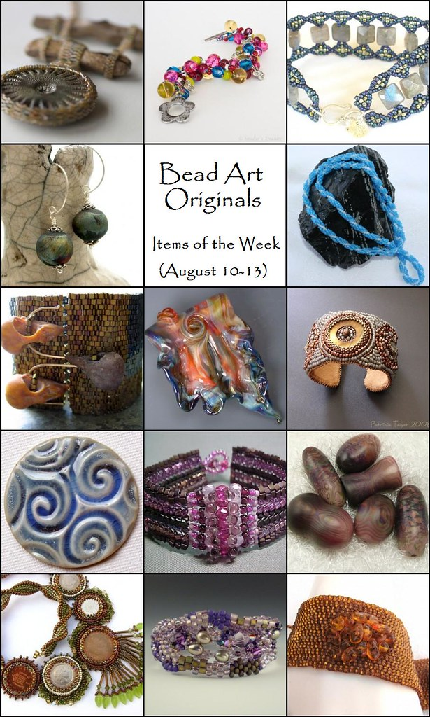 Bead Art Originals Items of the Week (August 10-13)