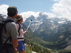 Cascade Canyon there is the Grand (audrey_hagen) Tags: tetons cascadecanyon paintbrushcanyon