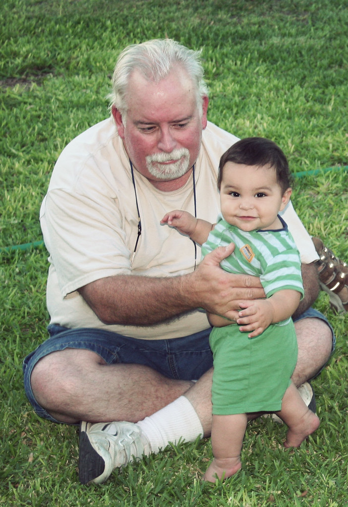 Jack and Pop-Pop Aug 09