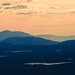 Mountains in the sunset - cropped by Lars Dahlin