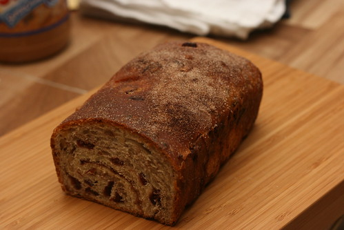 Cranberry Walnut Cinnamon (supposed to be swirl) Loaf