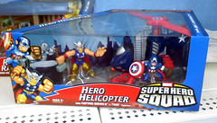 Super Hero Squad- Hero Helicopter