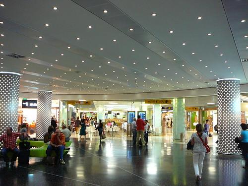El aeropuerto de Lisboa.