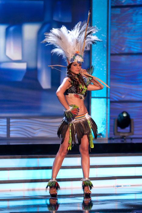 Traje Típico de Miss Paraguay