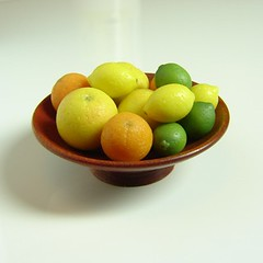 1:12 Scale Citrus Fruit