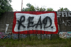 READ. (Hahn Conkers) Tags: ohio graffiti reader cleveland readmore booker bookman heist