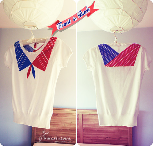 ♥ Sailor blouse