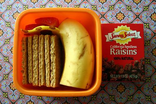 Kindergarten Snack Box #2: August 26, 2009