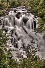 Swallow Falls (J3ni) Tags: water wales river waterfall north falls rapids betwsycoed hdr afon betsycoed llugwy
