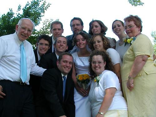 July 7 2007 Darrell & Lois Bartholomew & Children, Darrell, Sheldon, Sam, Daniel, Lena, Lois, Lois, Roger, Steph, Ruth, Darrell & Deborah
