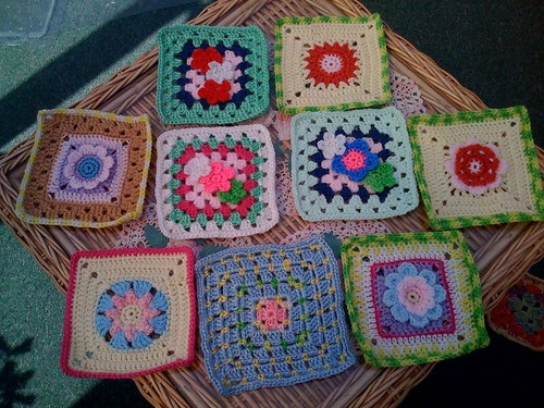 Beautiful 'Flower Squares', aren't they lovely? Thanks Sally.