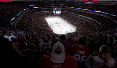 OT at the MADHOUSE (The New No. 2) Tags: winter people chicago playing game cold net ice cup sports hockey sport vancouver nhl frozen illinois goal goalie team gbrearview stadium skating save canadian victory il professional arena national stanley skate rink april blackhawks match stick skater recreation puck win athlete score period defense league forward canuck offense playoff chicagoist 2011