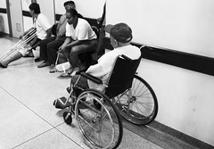 Patients waiting (Pri Benetti) Tags: hospital oldman socialproblems socialreality patientathospital