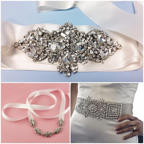 Haute Bride belts,  Lazaro Bridal Belts, Love Couture Bridal, washington DC wedding dresses, glam bridal accessories