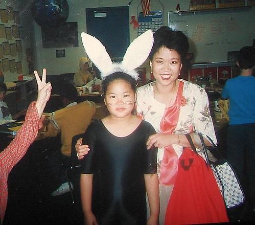 Irene the bunny - 1988