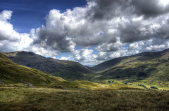 England, Cumbria: Hardknott Valley (Tim Blessed) Tags: sky nature clouds landscapes countryside lakedistrict hills cumbria singlerawtonemapped