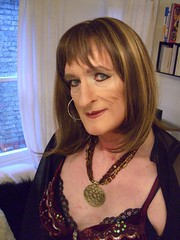 CIMG3299 (Julie Bracken) Tags: old red portrait fashion hair tv cd mini skirt crossdressing tgirl transgender mature tranny transvestite crossdresser crossdress kinky tg trannie mtf m2f feminized enfemme xdresser tgurl feminised transsister julieb85