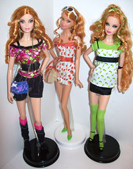 Top Model Summers (The Doll Cafe) Tags: barbie mattel steffie 2007 topmodel topmodelresort billgreening topmodelhairwear