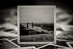 This is Nostalgia, This is Deja Vu, This is London (Stephen.James) Tags: old bw white black london vintage kodak retro collection photographs polaroidstyle blackwhitephotos