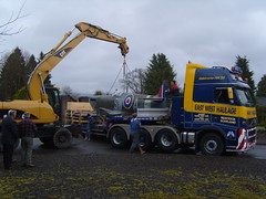 Spitfire (CRANKINC) Tags: spitfire wideload heavyhaulage abnormalload heavytransport eastwestheavyhaulage