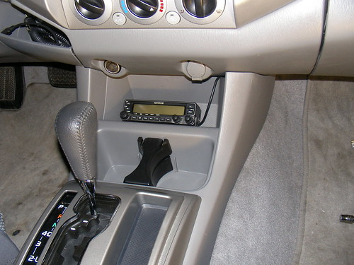 2006 Toyota Tacoma Ham Radio Install. I recently installed a Kenwood TM-V71A ...