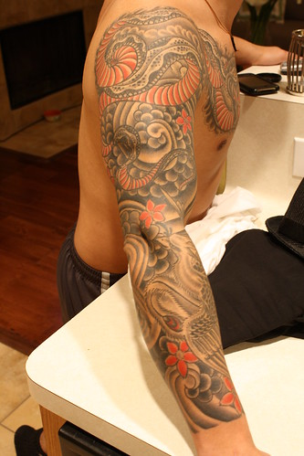 japanese half sleeve tattoos. Japanese sleeve tattoos with