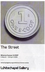 Whitechapel Galley token flyer