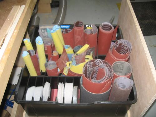 Sandpaper Organizer 1