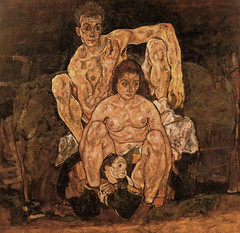 Egon Schiele The Family (griffinlb) Tags: art illustration austria paint post schiele painter expressionism impressionism visual biology impressionist figurative egon austrian zoology jugendstil naturalist