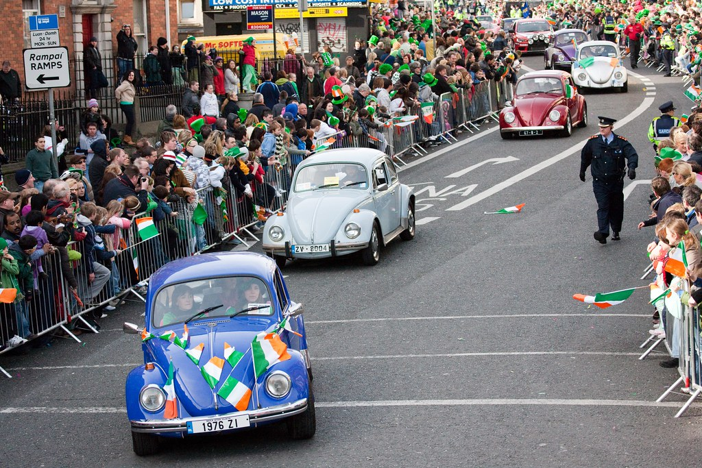 VW Beetle - St. Patrick's Day Parade 2009