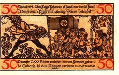 Hameln, 50 pf, 1918 (Iliazd) Tags: germany inflation notgeld papermoney germancurrency emergencymoney 19171922 germanpapermoney