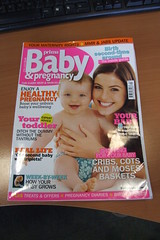 Baby & Pregnancy Magazine April 2009 Cover