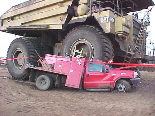 monster truck gone bad