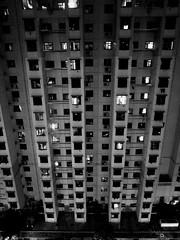 living vertical in singapore (Onitsuka YUSUF) Tags: blackandwhite flat singapour hdb singapur singapura putih nighshot hitam apartement rusun ricohgrdigitalii rumahsusun singaporeinblackandwhite livingverticalinsingapore