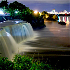 ~ Rideau Falls ~ (ViaMoi) Tags: longexposure canada long exposure ottawa rideaufalls awesomeshot digitalcameraclub supershot mywinners supershots platinumphoto frhwofavs viamoi 100commentgroup
