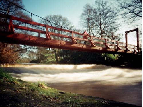 Weir and Bridge Eglinton 20Mar09