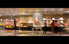 Furla in China World Shopping Mall, Beijing (kevin dooley) Tags: world china colors mall shopping store women beijing purses furla