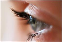 Auge Nicola (marmotta1) Tags: blau auge wimpern macr0