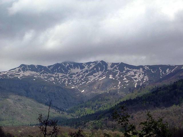Ήπειρος - Ιωάννινα - Δήμος Μαστοροχωρίων Η οροσειρά του Γράμμου από το Πληκάτι
