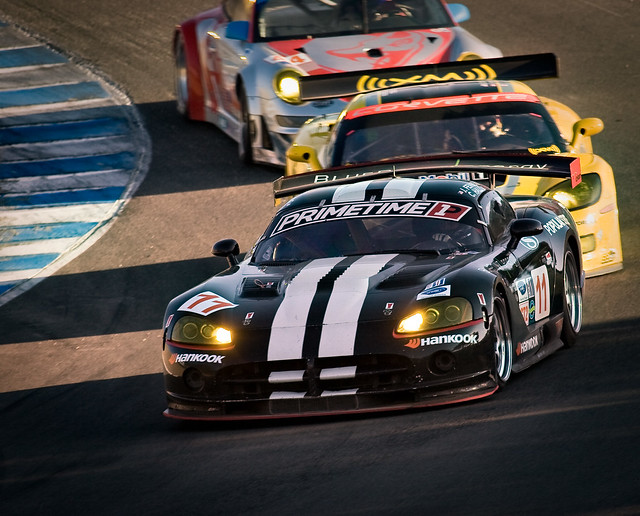 11 racing dodge viper 2008 lagunaseca sportscars bluepoint alms hankook americanlemans