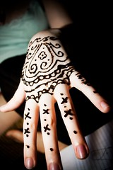 henna (cavale) Tags: 3 black flower art girl pattern hand heart fingers x fingernails swirl portfolio henna delicate bethanie cavalephotonet