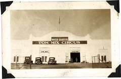 winter quarters, Tom Mix Circus (1934-1938), C...