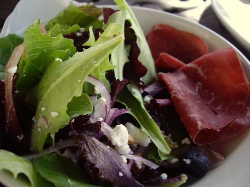 Mixed Green Salad with Bresaola