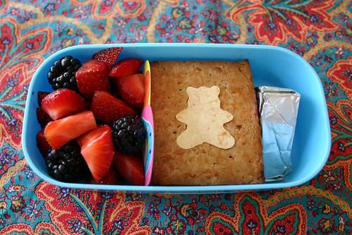 Preschooler Bento #159: March 25, 2009