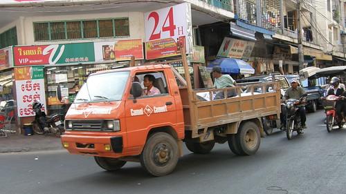 34.街上的小卡車